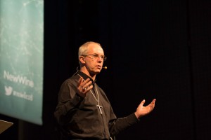 Justin Welby at New Wine