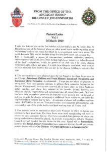 thumbnail of Pastoral Letter Vol 1 2020