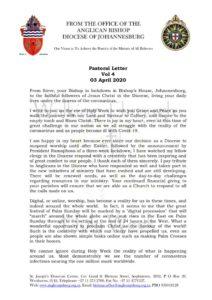 thumbnail of Holy Week Pastoral Letter Vol 4 April 2020