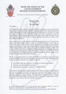 thumbnail of Pastoral Letter Vol 5 29 April 2020